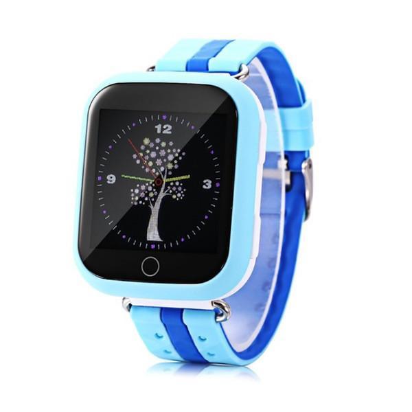 Детские телефон-часы с GPS трекером Smart Baby Watch Q100 Blue (sm-373)