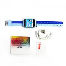 Детские телефон-часы с GPS трекером Smart Baby Watch Q100 Blue (sm-373), фото 2