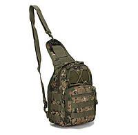 Сумка-рюкзак тактическая городская повседневная TACTICAL B14 Американский пиксель hubuxJX33930, КОД: 1620842