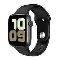 Умные часы IWO 11 с беспроводной зарядкой Черный swiwo11bl, КОД: 1533267