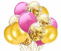 Набор воздушных шаров с конфетти 1012 ( 15 шт )