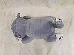 Плед - мягкая игрушка 3 в 1  Собачка серая  (99), фото 3
