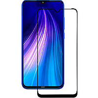 Захисне 5D скло Nano Flexible GLASS ITOP для Xiaomi Redmi Note 8 Pro Full Cover 2531, КОД: 1394265