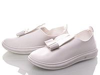 Слипоны Xifa 34 Белый KV103-6 white 34 19 см, КОД: 1392602