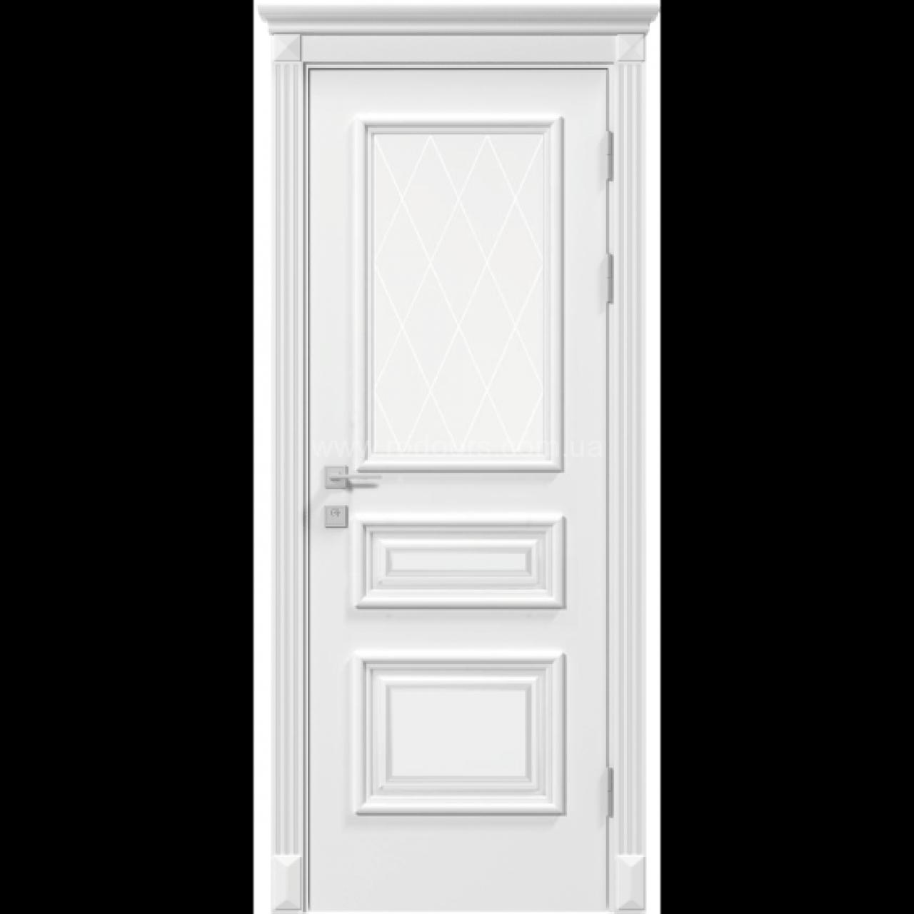 Двері RODOS Siena ROSSI білий мат
