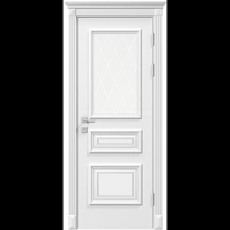 Двері RODOS Siena ROSSI білий мат, фото 2