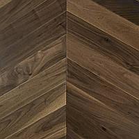 Паркетна дошка Brandwood Американский Орех 14х90х600 мм Натуральний AWSelChev90, КОД: 1559231