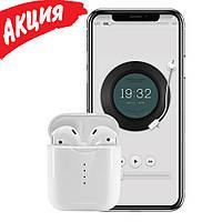 Наушники беспроводные вкладыши i100 tws Bluetooth гарнитура для смартфона с микрофоном Wireless копия airpods