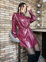 Платье кожаное 44437, фото 1