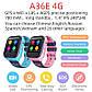 Детские смарт часы UWatch A36E 4G GPS WiFi Blue, фото 5