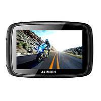 GPS навигатор для мотоцикла квадроцикла мототехники Azimuth M510 + Сити Гид 68-75100-1, КОД: 1339561