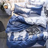 Семейный набор хлопкового постельного белья из Бязи Черешенка Gold 151335AB, КОД: 2396244