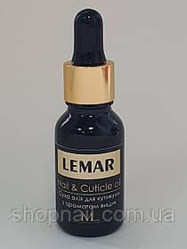 LEMAR Сухое масло для кутикулы, Вишня, 15мл