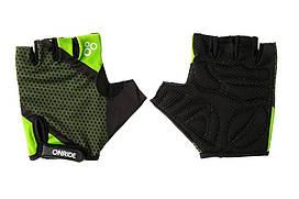 Рукавички велосипедніOnRide TID L Black-Light Green 2956563230128, КОД: 955039
