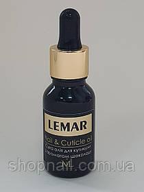 LEMAR Сухое масло для кутикулы, Шоколад, 15мл