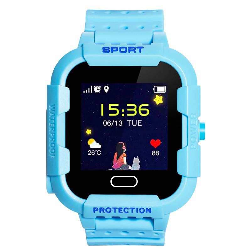 Детские смарт часы UWatch DF37G Blue