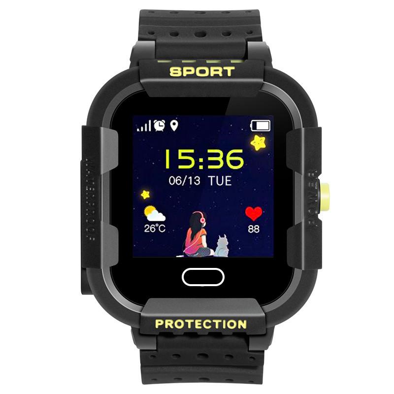 Детские смарт часы UWatch DF37G Black