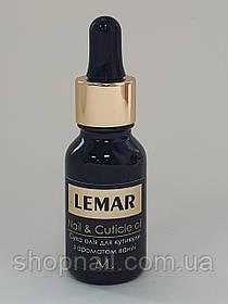 LEMAR Сухое масло для кутикулы, Ваниль, 15мл