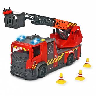 Пожарная машинка Scania 35 см с водой Dickie 3716017, фото 2