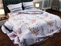 Двуспальный набор постельного белья Черешенка Gold 152814AB 180х220 Бязь Белый BC2G152814AB, КОД: 1841682
