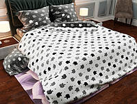Семейный набор хлопкового постельного белья из Бязи Gold 157440AB Черешенка BC4G157440AB, КОД: 1891482