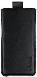 Чехол-карман Valenta для телефона Nokia 222 Черный C-564 N222, КОД: 132533