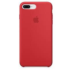Чехол Apple Silicone Case для iPhone 7 Plus Red 1671, КОД: 289026