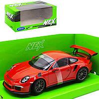 "Машинка металлическая ""Porsche 911 GT3"", красная"