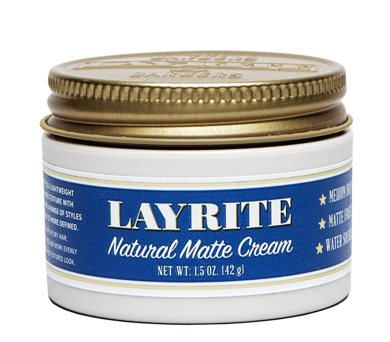 Помада для укладки волос Layrite Natural Matte Cream 42г