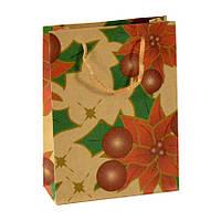 Сумочка подарочная Gift Bag Native Кедиферон Бумага 20х15х6 см Натуральный 11975, КОД: 1347565