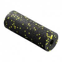 Масажний ролик, валик, роллер 4FIZJO Mini Foam Roller 4FJ0081 Black-Yellow SKL41-227869