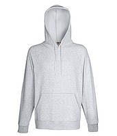 Худи Fruit of the Loom Lightweight hooded sweat XXL Серо-лиловый 062140094XXL, КОД: 1554430