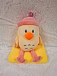 Плед - мягкая игрушка 3 в 1  Цыпленок в розовом (103), фото 3