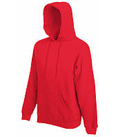 Худи Fruit of the Loom Classic hooded sweat L Красный 062208040L, КОД: 1554545