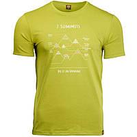 Футболка чоловіча Turbat 7 SUMMITS XXL Green 012.004.0933, КОД: 1817732