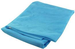Пляжный коврик подстилка покрывало Антипесок Sand Free Mat 150х200 см Голубой 111234, КОД: 2350795