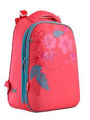 Рюкзак шкільний каркасний 1 Вересня H-12 Blossom Кораловий 556042, КОД: 1247911