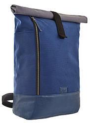 Рюкзак міський YES Roll-top G-08 Perseus 21 л Синій 557703, КОД: 1252088