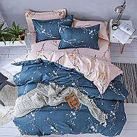 Семейный набор хлопкового постельного белья из Бязи Черешенка Gold 156081AB, КОД: 2396215