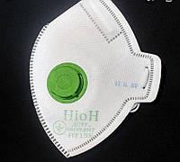 Респиратор НіоН (Неон) с клапаном К ФФП1, защитная маска FFP1, респираторная маска, маска многоразовая