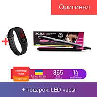 Плойка утюжок для укладки волос с терморегулятором, выпрямитель для волос, щепцы Rozia HR-739 30 Вт