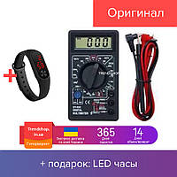 Мультиметр тестер вольтметр амперметр, измерение постоянного и переменного напряжения BM-02-832