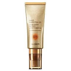 Улиточный солнцезащитный крем The Saem Snail Essential EX Wrinkle Solution Sun Cream SPF50+ PA+++, КОД: