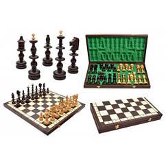 Шахматы изысканные высокие инкрустация ручная работа Старопольские Madon Staropolskie с-120 с чех, КОД: