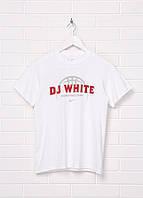 Детская футболка Gildan с надписью M Белая 1313161-M, КОД: 1477583