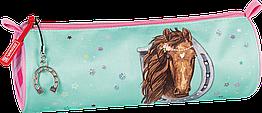 Пенал Brunnen Ponylove 22 х 8 см Розовый с голубым 1049109742, КОД: 1921670