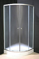 Душевая кабина Sunlight 7122 90х90х200 см мелкий fabric Матовый, КОД: 1370981