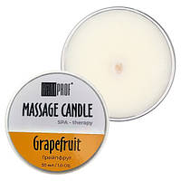Andi Prof Massage Candle Grapefruit - массажная свеча с ароматом грейпфрута, 30 мл