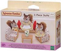 Игровой набор Epoch Sylvanian Families Мягкая мебель для гостиной 4464, КОД: 2429161