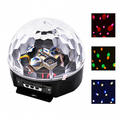 Лазер диско YX-024-M4/XC-01 Bluetooth, пульт ДУ, флешка